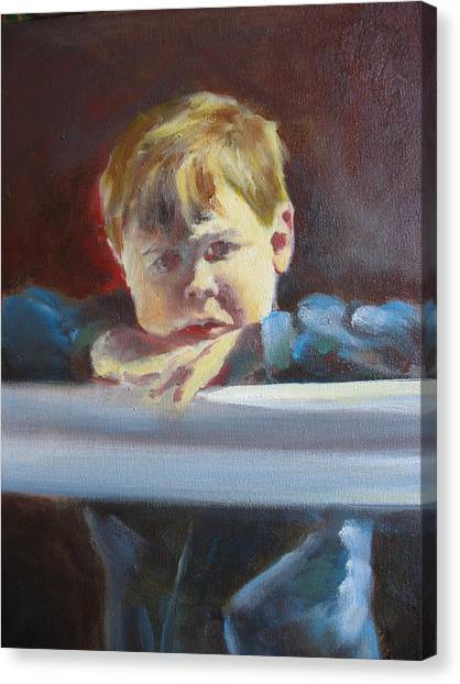 Open  Canvas Print by Keith Cutrufello