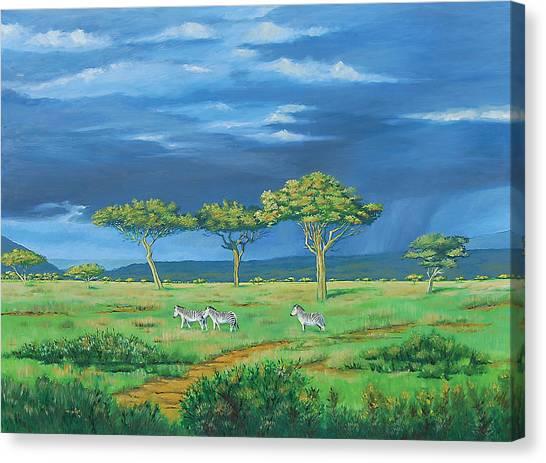 Open Plains Canvas Print by Deon West