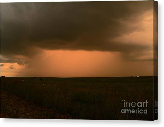 Nsa Canvas Print - Open Up The Heavens by Audie T Photography