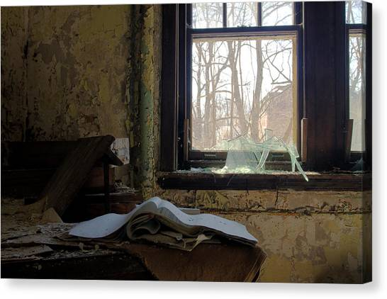 Opened Canvas Print by Kevin Brett