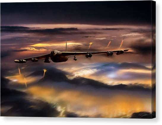 Vietnam War Canvas Print - Opening Night Reprise by Peter Chilelli