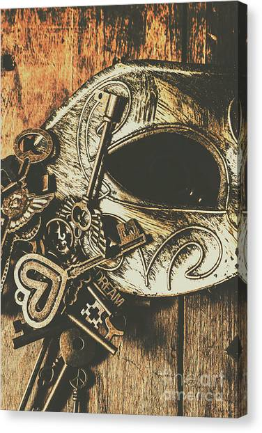 Hidden Face Canvas Print - Opening Stage Show by Jorgo Photography - Wall Art Gallery