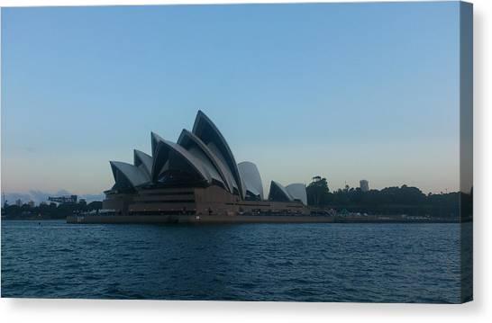 Australian Canvas Print - Opera House View by Hiro Yasshie