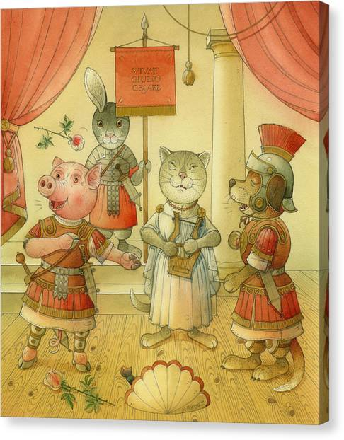 Opera Canvas Print by Kestutis Kasparavicius