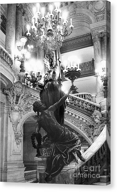 Opera Staircase Canvas Print