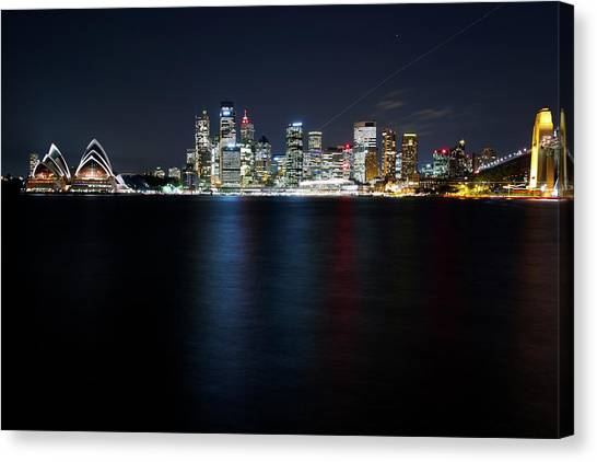 Harbour Streak Canvas Print