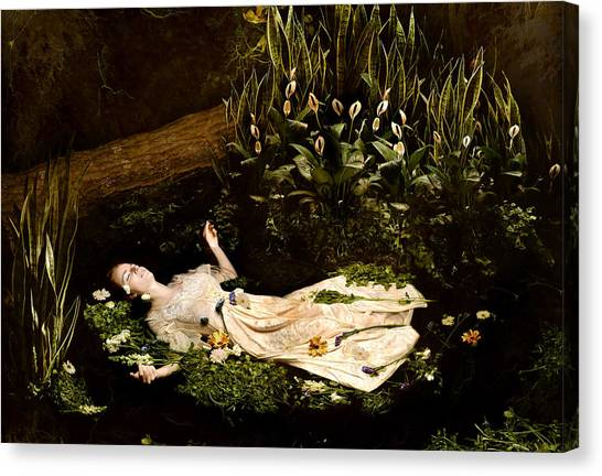 Ophelia Canvas Print by Jacquie Thuemler