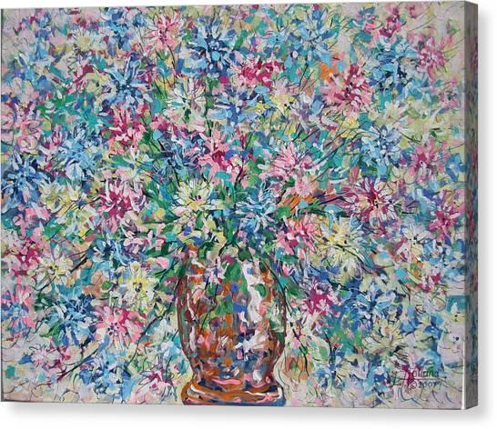 Opulent Bouquet. Canvas Print