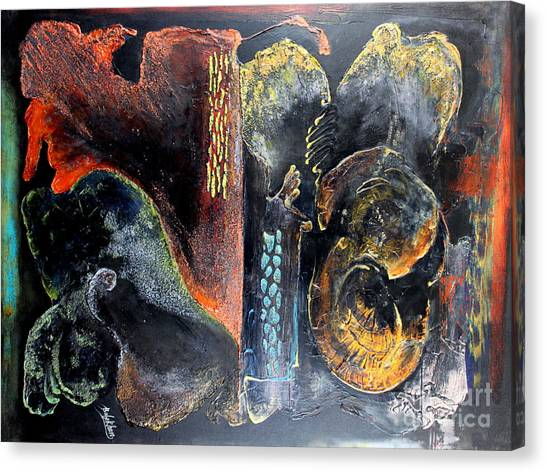 Opus Canvas Print