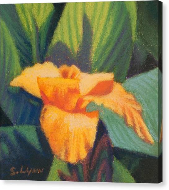 Orange Cannas Canvas Print