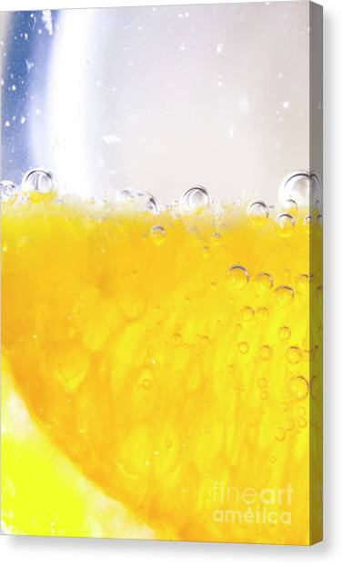 Limes Canvas Print - Orange Cocktail Glass by Jorgo Photography - Wall Art Gallery