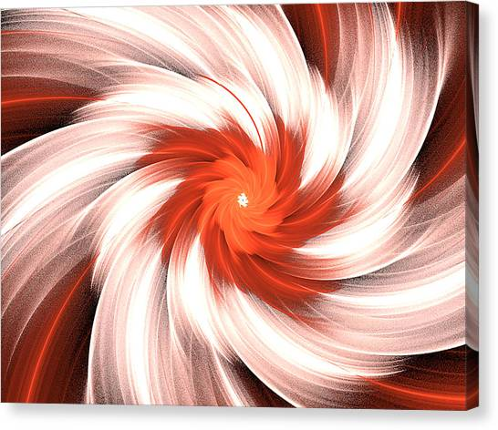 Orange Creme Canvas Print