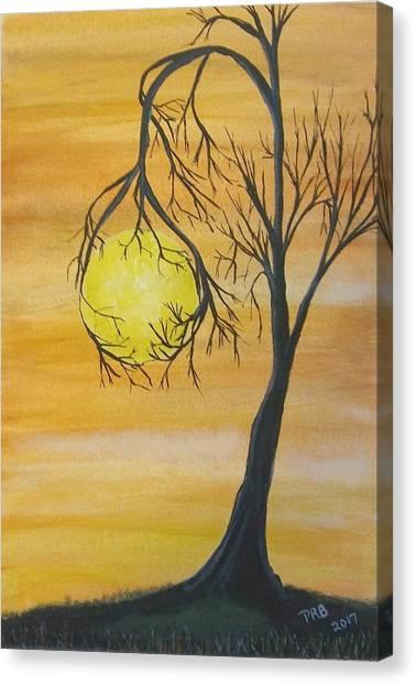 Canvas Print - Orange Dream  by Pamula Reeves-Barker