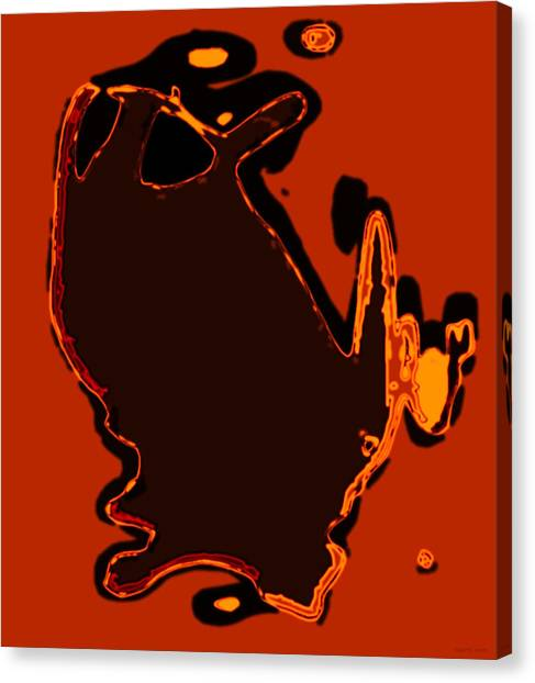 Canvas Print - Orange by The Hari Rama