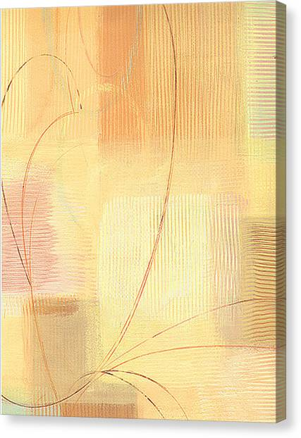 Orange Textures  Canvas Print by Marja Koskinen-Talavera