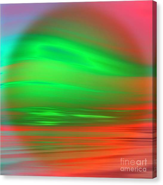 Block Canvas Print - Orb by John Edwards