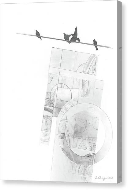 Orbit No. 3 Canvas Print