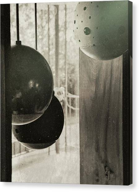 Orbiting Orbs Canvas Print by JAMART Photography