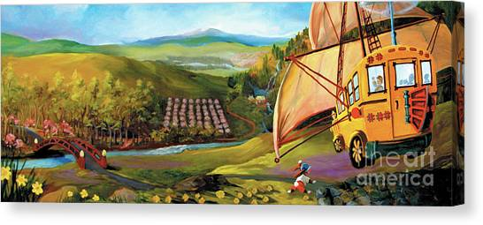 Orchard Valley Canvas Print