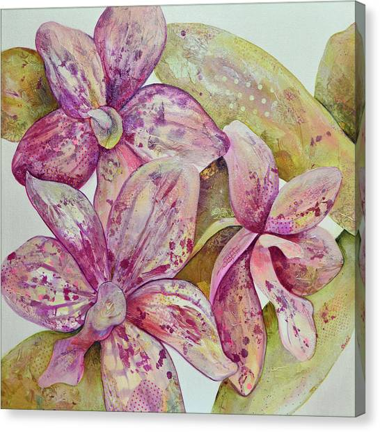 Orchids Canvas Print - Orchid Envy by Shadia Derbyshire