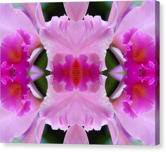 Orchid Fusion Canvas Print