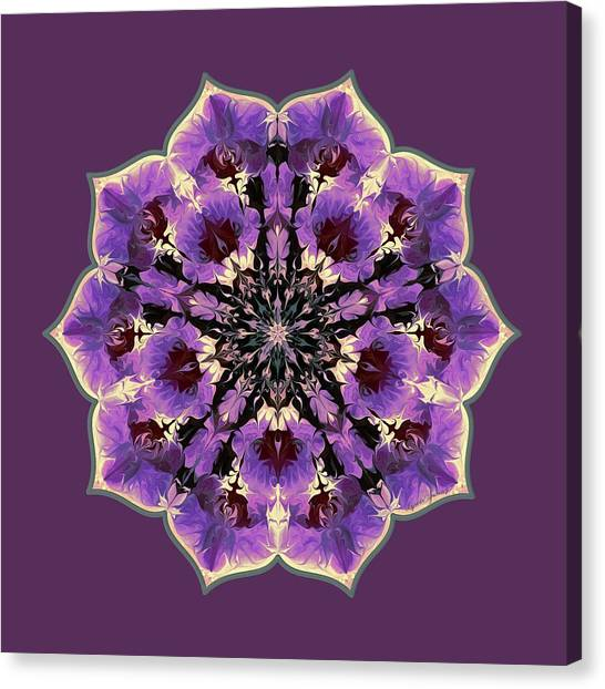 Orchid Lotus Canvas Print