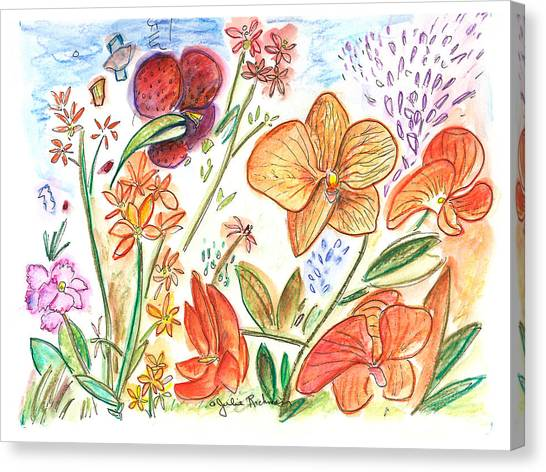 Orchid No. 9 Canvas Print by Julie Richman