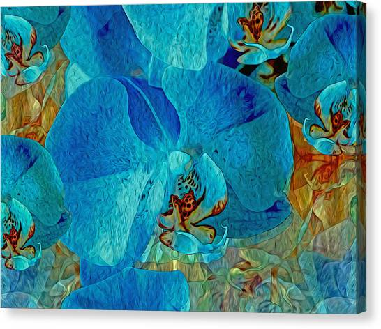 Orchid Reverie 10 Canvas Print