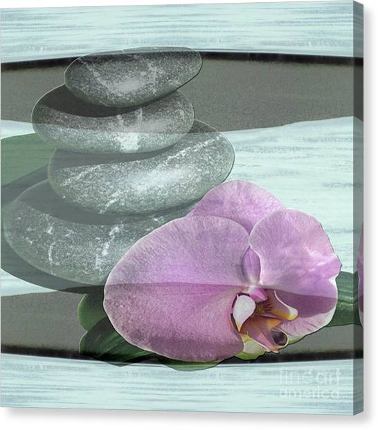 Orchid Tranquility Canvas Print
