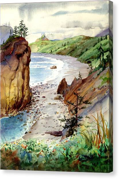 Oregon Coast #3 Canvas Print