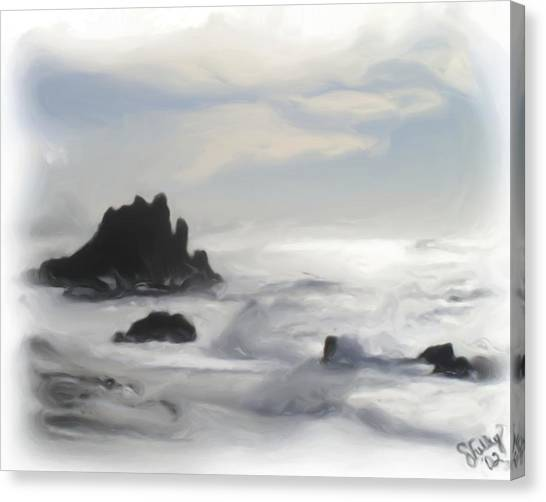 Oregon Coast Canvas Print by Shelley Bain