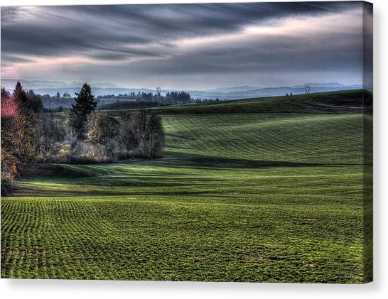 Oregon Field Canvas Print