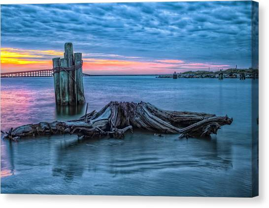 Oregon Inlet II Canvas Print