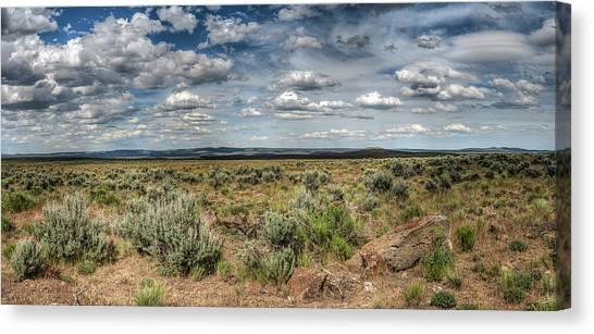Oregon Outback Canvas Print