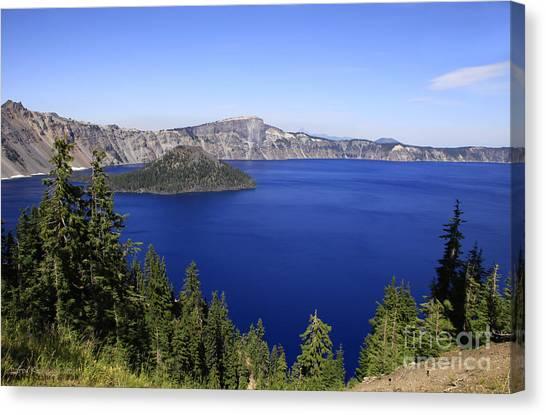 Oregons Crater Lake Canvas Print