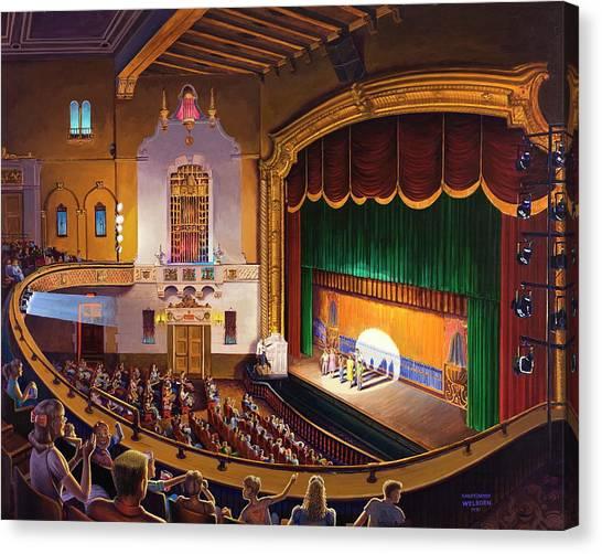 Organ Club - Jefferson Canvas Print
