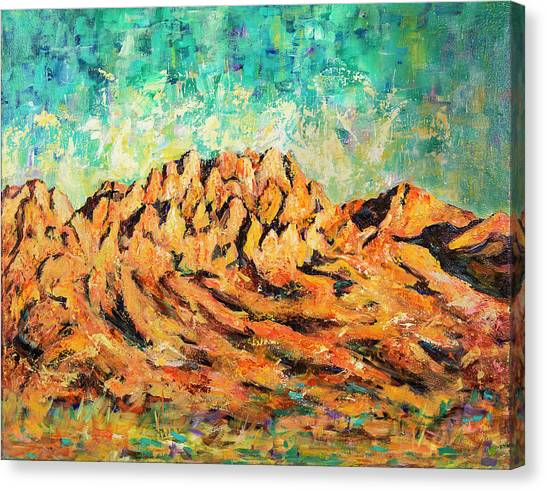 Organ Mountains IIi Canvas Print