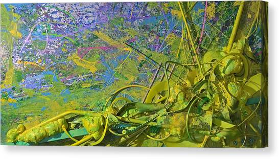 Organic Choas #3 Canvas Print