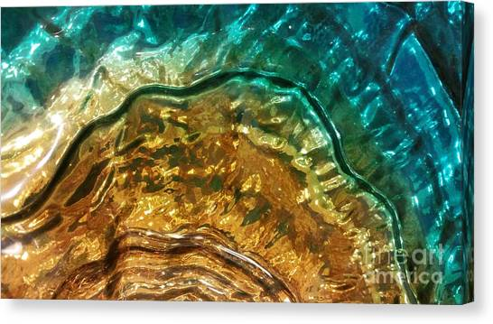 Organic Flow Canvas Print