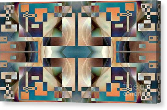 Organic Symetry Canvas Print by Jack Dillhunt
