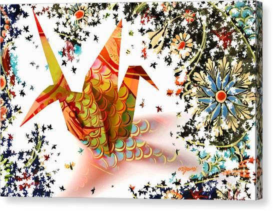 Origami 2017 Canvas Print