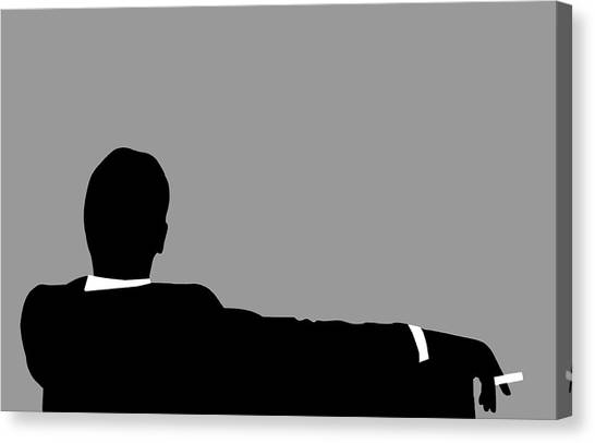 Original Mad Men Canvas Print