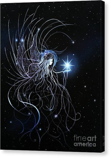 Orions Angel Canvas Print by Pauline Ross