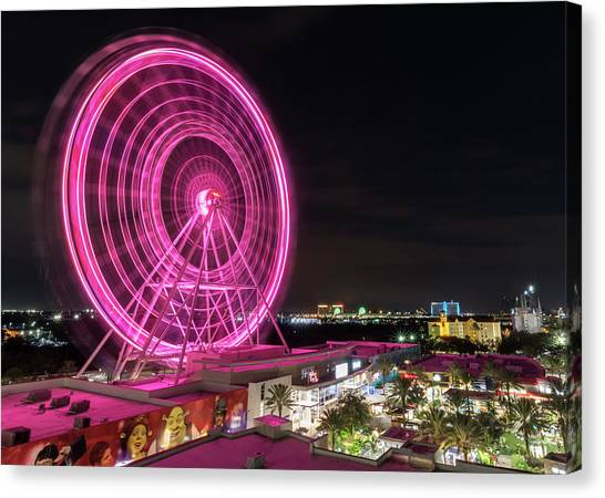 Orlando Eye Canvas Print