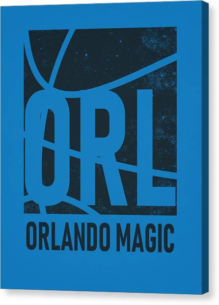 Orlando Magic Canvas Print - Orlando Magic City Poster Art by Joe Hamilton