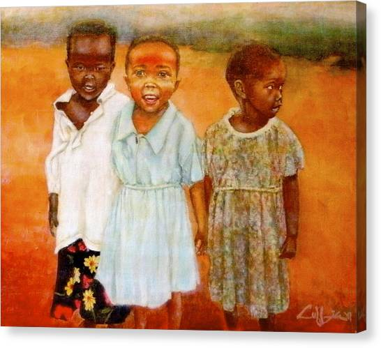 Orphans3 Canvas Print