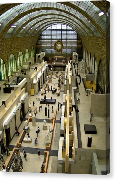 Orsay Museum Canvas Print