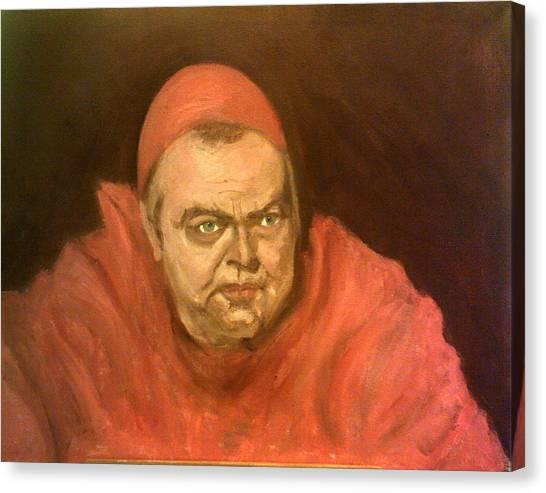 Orson Welles As Cardinal Wolsey Canvas Print