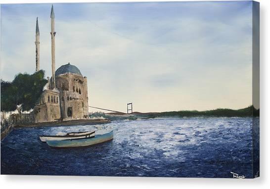 Ortakoy Mosque Canvas Print