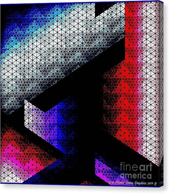 Canvas Print - Orthogon Disco by Lisa Marie Towne